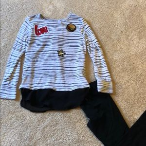 Target Outfit Top And Black Leggings